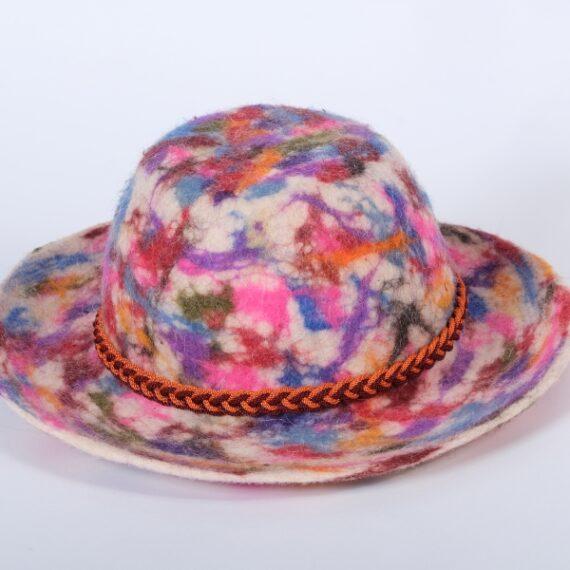 White Volcano Hat